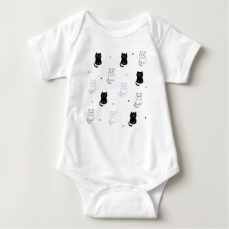Body in Jersey for Babies, Cats Baby Bodysuit