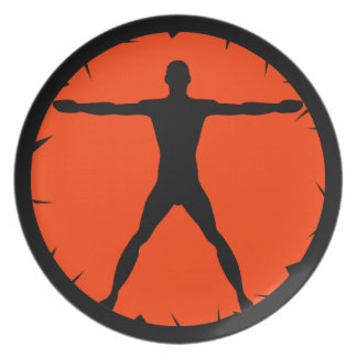 Body Madness Fitness Sports Dinner Plate