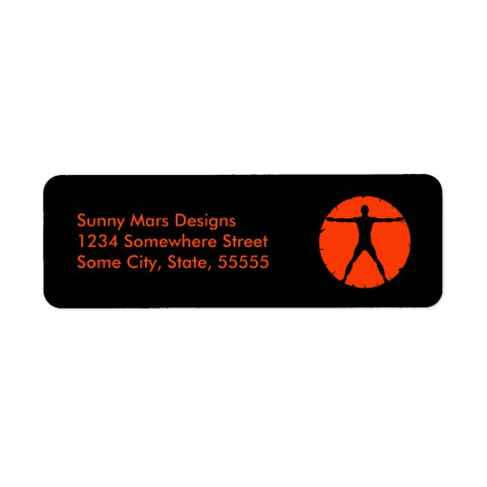 Body Madness Gym Coach Return Address Labels