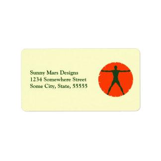 Body Madness Personal Trainer Return Adress Label Address Label