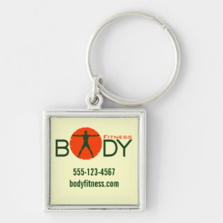 Body Madness Promotional Personal Trainer Keychain
