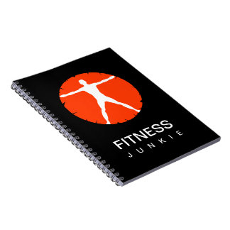 Body Madness Sports Fitness Junkie Custom Notebook