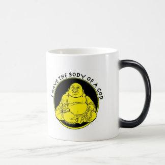 Body Of A God Magic Mug