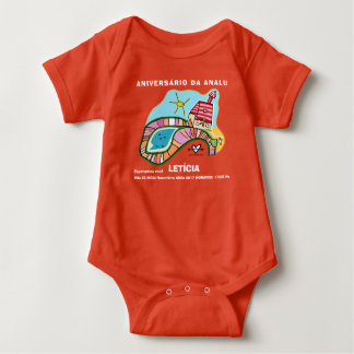 Body of ANNIVERSARY Baby Bodysuit