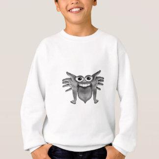 Body Part Monster Illustration Sweatshirt