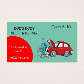 500 auto repair shop business cards and auto repair shop for Mechanic shop business cards