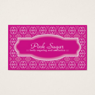 Body Sugaring & Aesthetics Business Card