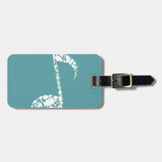 Body the note luggage tag