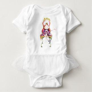 Body with ballet tutu Princess Baby Bodysuit