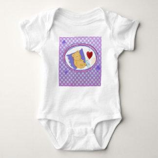 Body with sleeping Bärchen for girls Baby Bodysuit