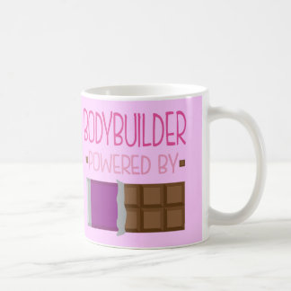 Bodybuilder Chocolate Gift for Woman Basic White Mug