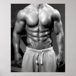 Bodybuilder Gym Wall & Health Club Poster #25