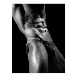 Bodybuilder Postcard #6
