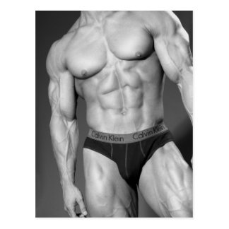 Bodybuilder Postcard #8