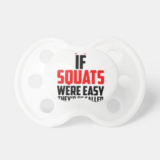bodybuilder squats pacifiers