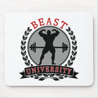 Bodybuilding Beast University Mouse Pad