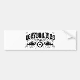 Bodybuilding Bumper Sticker