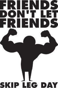 6683cbbfbdf35 Bodybuilding - Don t Skip Leg Day - Squat Trucker Hat