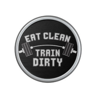 Bodybuilding - Eat Clean Train Dirty Bluetooth Speaker