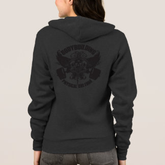 Bodybuilding - Physical Culture - Warrior Crest Hoodie