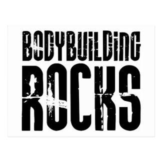 BodyBuilding Rocks Postcard