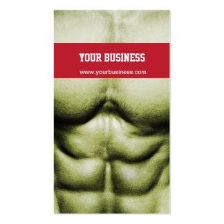 Bodybuilding Self-Defense Business Card