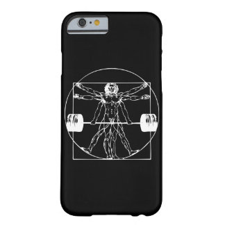 Bodybuilding - Vitruvian Barbell Man Barely There iPhone 6 Case