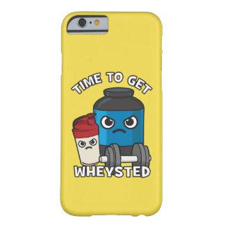 Bodybuilding Workout - Time To Get Wheysted Barely There iPhone 6 Case