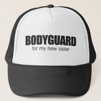 bodygaurd for my new sister trucker hat