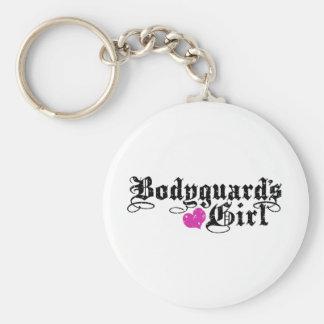 Bodyguard's Girl Key Ring