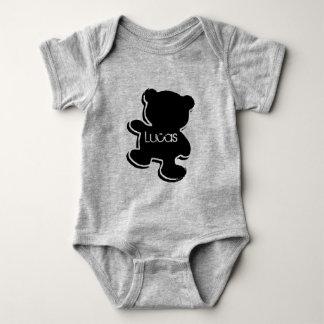 Bodystocking in jersey for baby, Teddy Baby Bodysuit