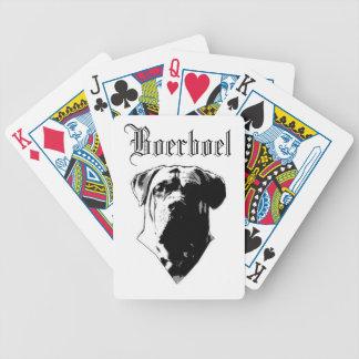 Boerboel Playing Cards