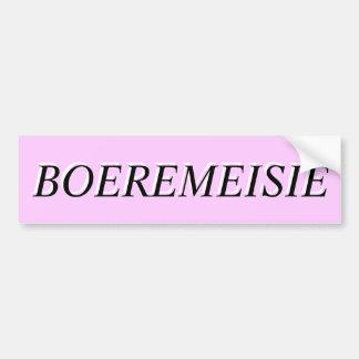 BOEREMEISIE BUMPER STICKER