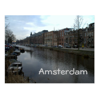 Boerenwetering, Amsterdam Postcard