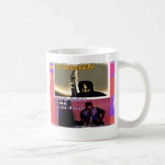 Bogan: The Man, The Guitar Coffee Mugs