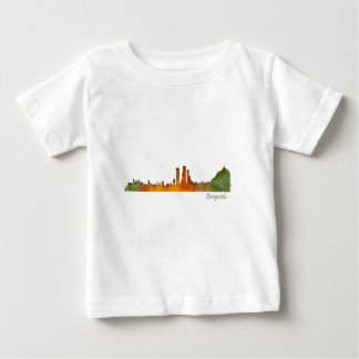 Bogota City Colombia Cundinamarca Skyline v01 Baby T-Shirt