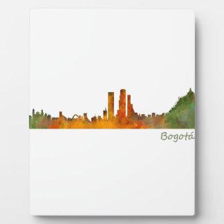 Bogota City Colombia Cundinamarca Skyline v01 Photo Plaques