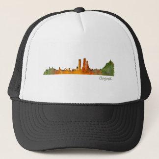 Bogota City Colombia Cundinamarca Skyline v01 Trucker Hat