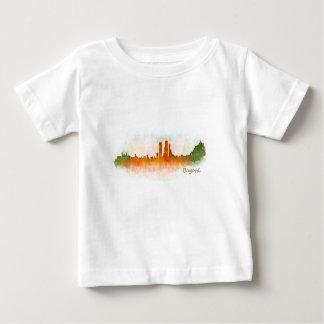 Bogota City Colombia Cundinamarca Skyline v03 Baby T-Shirt