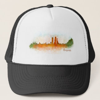 Bogota City Colombia Cundinamarca Skyline v03 Trucker Hat