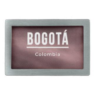 Bogota, Colombia Rectangular Belt Buckles