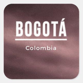 Bogota, Colombia Square Sticker