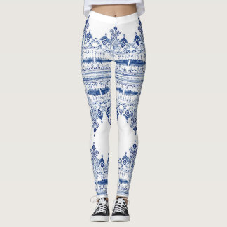 Bohem Blue Leggins Leggings