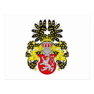 Bohemia Coat of Arms (19th century) Postcard