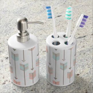 Bohemian Arrows Bathroom Set