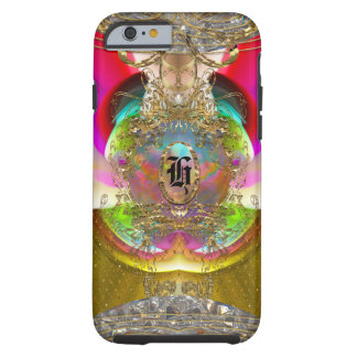 Bohemian Baroque Monogram 6/6s Tough iPhone 6 Case