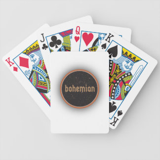 Bohemian Bicycle Playing Cards