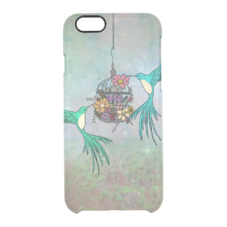 Bohemian Birds Phone 6/6s Clearly™ Deflector Case