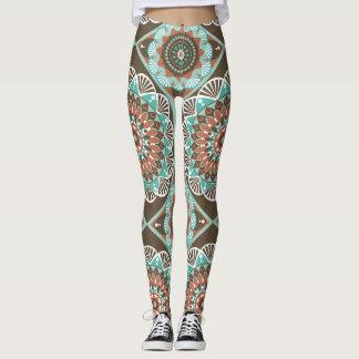 Bohemian Boho Chic Designed Leggings