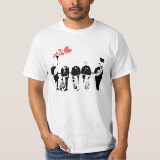 Bohemian Brass Band Love Hearts T-Shirt